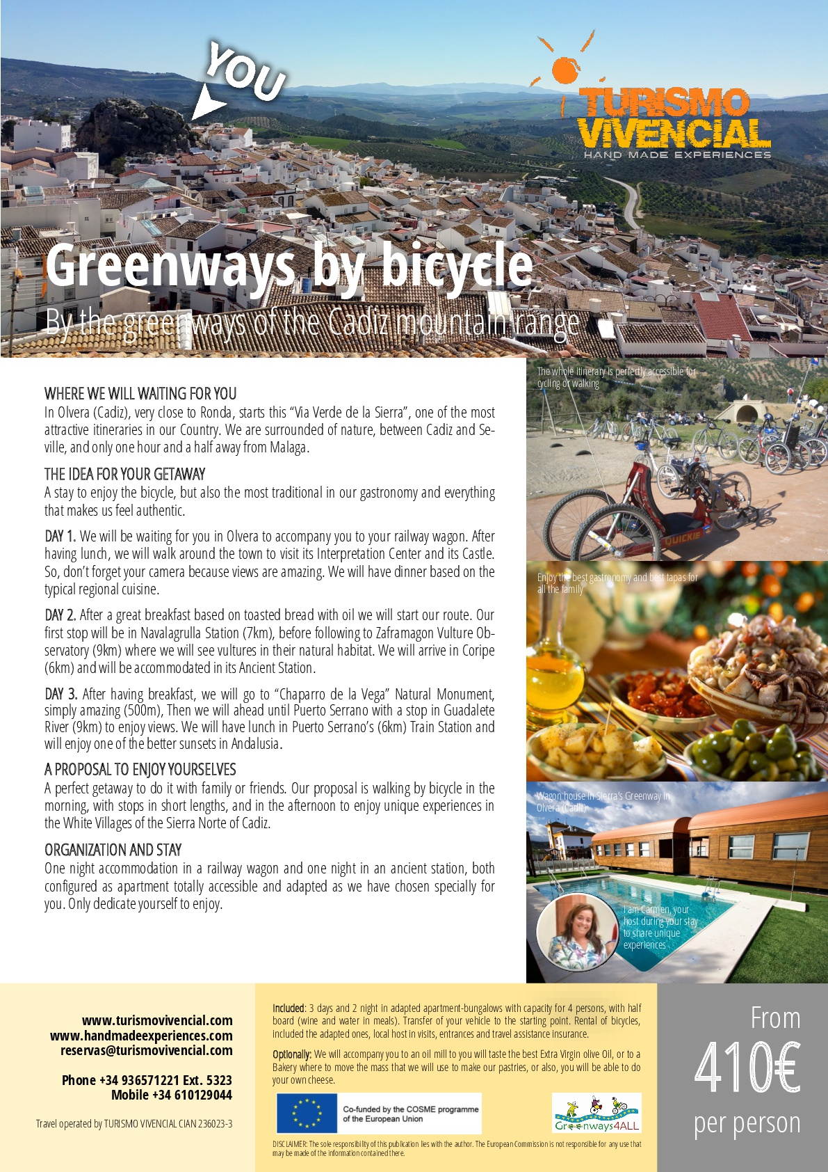 GREENWAYS BY BICYCLE