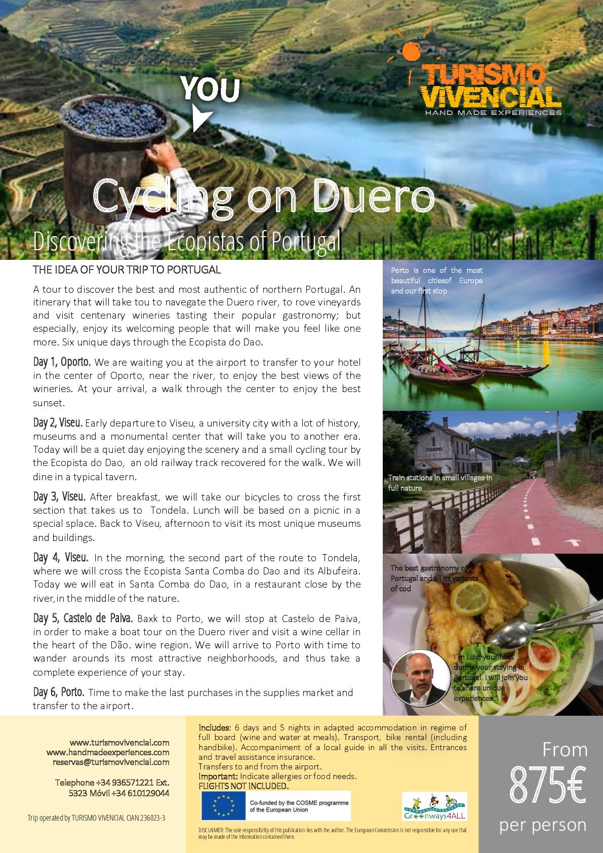 CYCLING ON DUERO