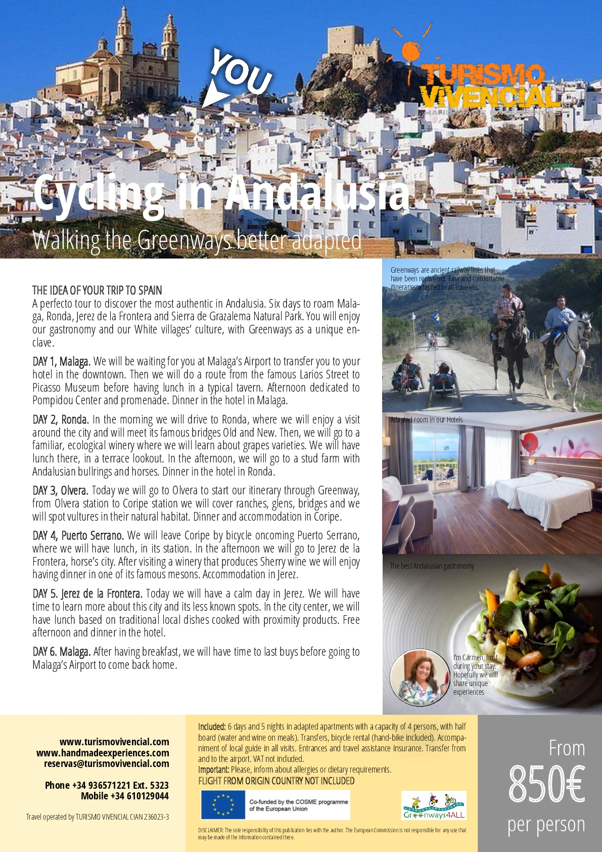 CYCLING IN ANDALUSIA, SPAIN