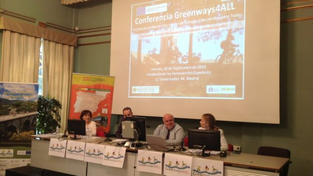 "The conference ""Greenways4ALL: Accessible Tourism on European Greenways"" has been held"