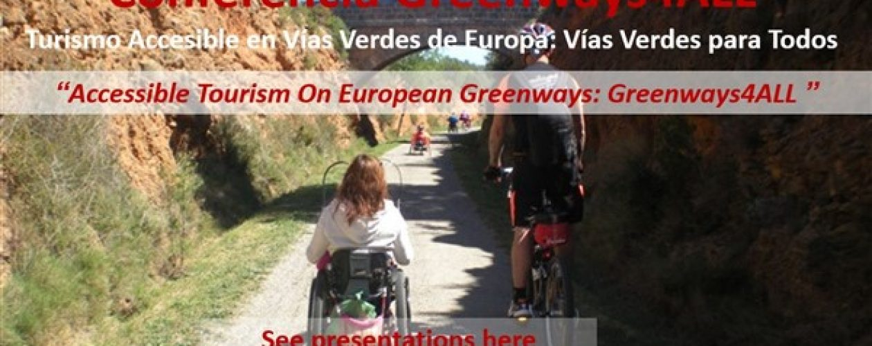 """Presentations are Available- """"Greenways4ALL: Accessible Tourism on European Greenways"""""""