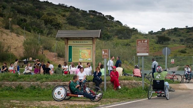"""""""Local Accesibility Agreement"""" for La Sierra greenway and Ecopista do Dao"""