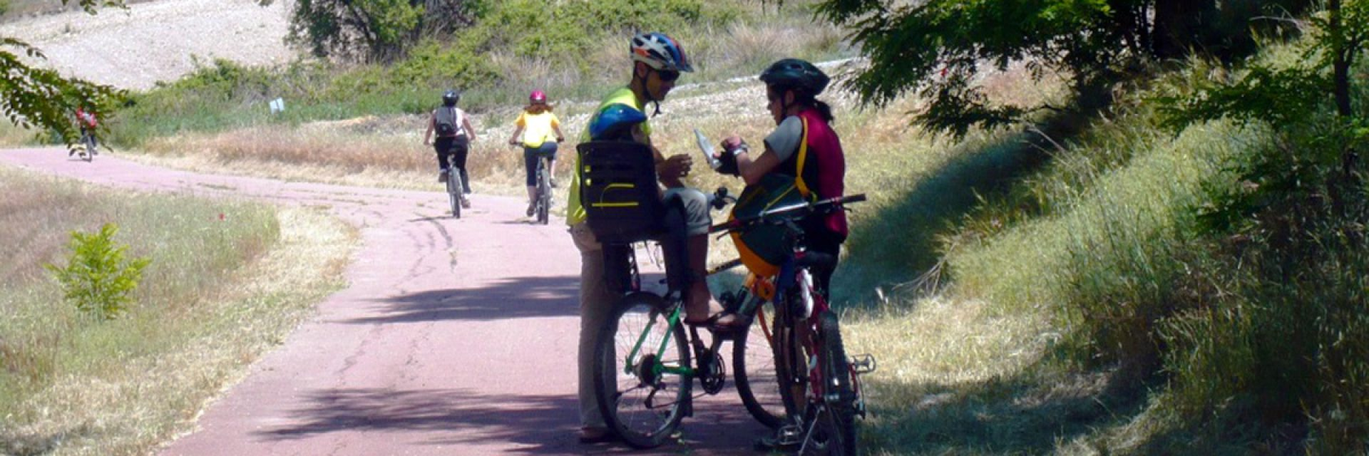 Enjoy greenways by bike with childrens!